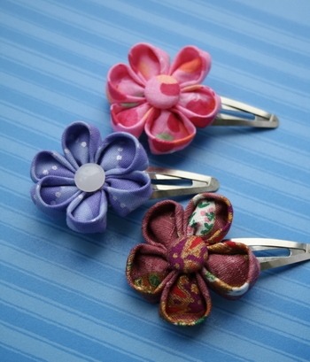 Kanzashi de 'My little motchi'